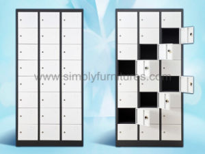 Metal Storage SPA Locker with 24 Doors pictures & photos