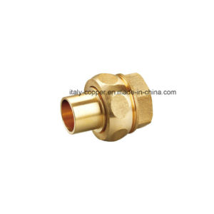 Customized Quality Brass Forged Union (AV-70025) pictures & photos