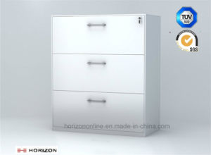 Three Drawers Lateral Filing Cabinet Custom Office Furniture pictures & photos