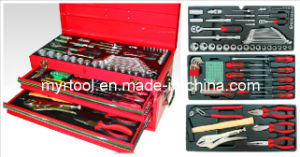 113PCS 3 Drawer Portable Tool Chest Set (FY113A) pictures & photos
