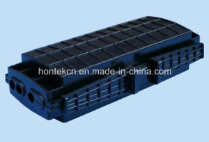 48 Core Horizontal Fiber Optic Splice Closure 3in and 3 out