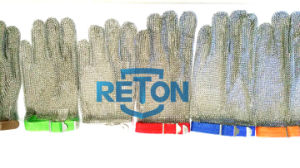 Anti-Cut Butcher Metal Glove/Chain Mail Mesh Glove/Five Finger Metal Mesh Glove