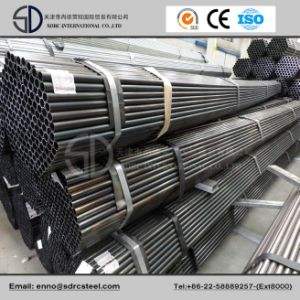 Round Black Annealed Steel Pipe for Machinery Industry pictures & photos
