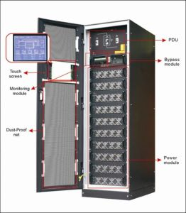 Large Rack-Mounted Modular Online UPS (RM200) pictures & photos