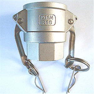 Stainless Steel D Type Coupling Camlock for Pipe Joint pictures & photos