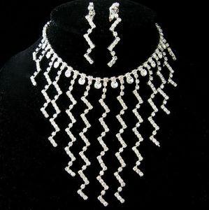New Design Willow Leaf Jewelry Set