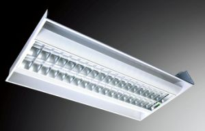 Euro Diffuse Reflection V-Shape Grid Space Lamp Panel Series with Net (HML-T5881)