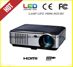 1080P 800*480 HD Home Theater Projector (SV-226) pictures & photos