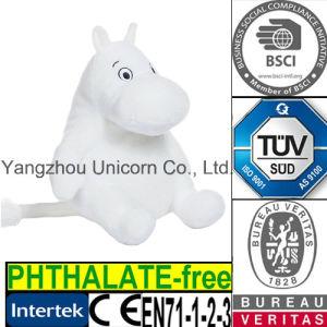 CE Soft Stuffed Animal Luxury Fur Hippo Plush Toy