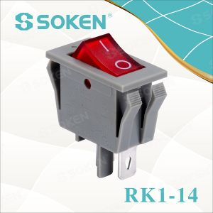 Soken Electrical Rocker Switch Light T85 16A 250VAC pictures & photos