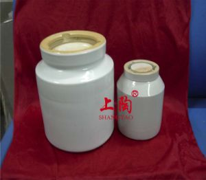 Porcelain Cylindrical Mill Pot pictures & photos