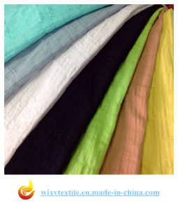 Crinkle Cotton Spandex Fabric pictures & photos