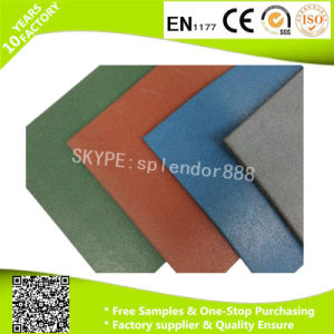 Playground Rubber Sports Court Flooring Tiles pictures & photos