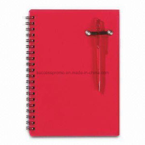 Eco PP Cover Spiral Notebook with Customized Logo pictures & photos