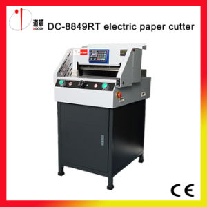 DC-8849rt Electric Paper Guillotine Cutter Machine