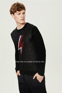 70%Acrylic 30%Wool Pullover Man Knit Sweater pictures & photos
