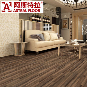 Black Walnut Cystyal Diamond Surface Laminated Flooring pictures & photos