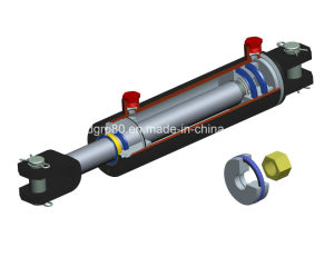 USA Standard 3000psi Welded Hydraulic Cylinder pictures & photos