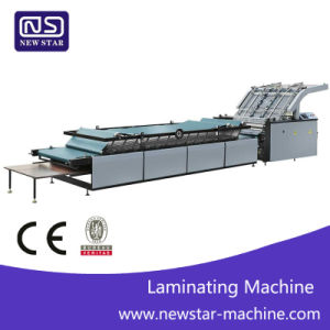 Semi-Automatic Flute Laminating Machine pictures & photos