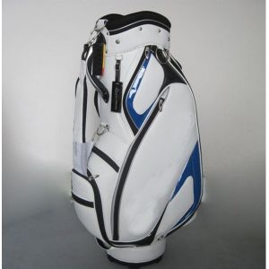 OEM Golf Bag White PU Bag with Your Own Logo pictures & photos