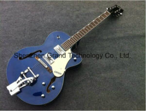Jazz Electric Guitar with Bigsby Bridge Chrome Hardware (GRT-10) pictures & photos