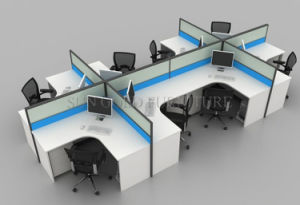 Modern Office Furniture 8 Person Office Partition Workstation (SZ-WS246) pictures & photos