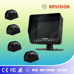 "5.6"" Panel TFT LCD Monitor with IP68 Side Camera pictures & photos"