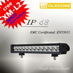 "New Single LED Driving Light Bar IP68 Oledone 21"" 120W CREE LED Light Bar"