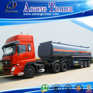 3 Axles 45cbm Fuel Tank Semi Trailer for Sale pictures & photos