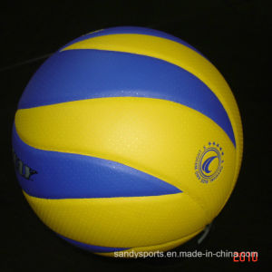 Best Quality PU Leather Laminated Volleyball pictures & photos