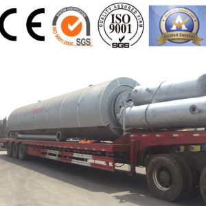 Environmental Friendly Zero Pollution Tyre Pyrolysis Equipment pictures & photos