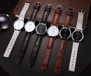 Fashion Stainless Steel Net Band Wristwatch pictures & photos