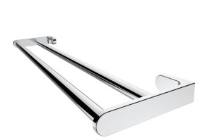Wall Mounted Chrome Brass Double Towel Bar for Bathroom pictures & photos
