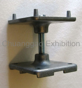 Zinc Alloy Adjustable Foot for Exhibition Floor (FW004) pictures & photos