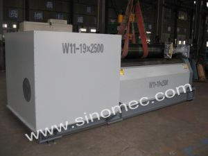 W11 Mechanical 3 Roller Rolling Machine W11-19X2500 pictures & photos