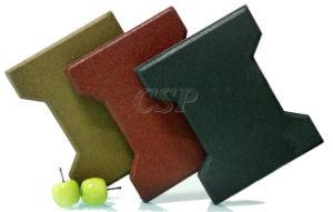 Antislip Dog Bone Rubber Tile Mat pictures & photos