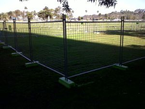 Temporary Fencing Panels, Mobile Fence 2100mm X 2400mm for Australia Brisbane pictures & photos
