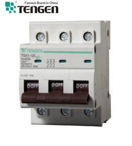 CE Approved Tengen Tgh1-125 Types of Electrical Circuit Breaker pictures & photos
