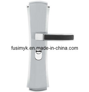 High Quality Silver Door Handle China Factory (FA-6128XX) pictures & photos