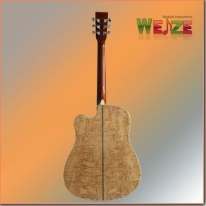 41inch Acousticguitar with Quilted Ash Plywood Back pictures & photos