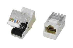 Tool-Less Type Cat5e RJ45 Keystone Jack