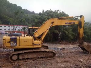 Very Cheap Used Komatsu PC 200-7 for Sale pictures & photos
