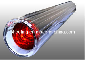 All Glass Solar Evacuated Tube with High Absorptivity