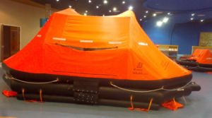 CCS & Ec Approved Self-Righting Inflatable Marine Life Raft for Life Saving pictures & photos