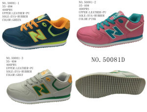 No. 50081 Three Colors Women Casual Shoes Stock Shoes pictures & photos