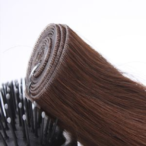 European Virgin Remy Pre-Taped Skin Weft Hair Extension pictures & photos