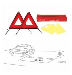 Reflector Triangle Warning Signs for Car Emergency Kit pictures & photos