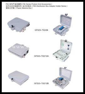 Plastic 48cores FTTH Distribution Terminal Box- FTTX Box pictures & photos