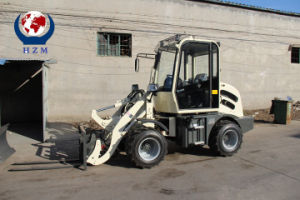 Mini Wheel Loader Best Price Top Quality From Hzm pictures & photos