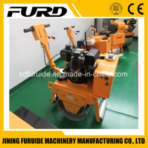 Single Drum Walk Behind Vibratory Road Roller (FYL-600C) pictures & photos